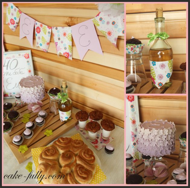 baby party collage
